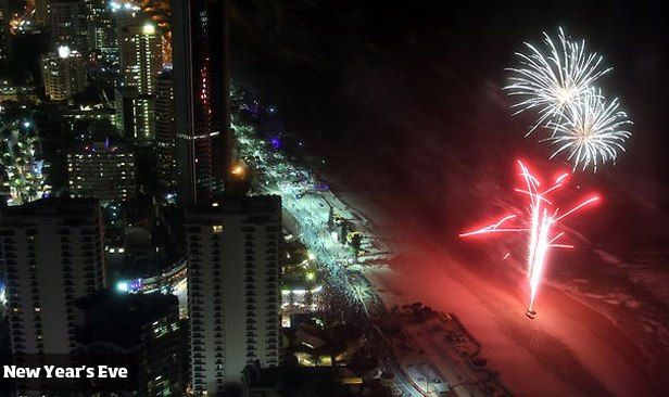 Gold Coast New Years Eve 2018