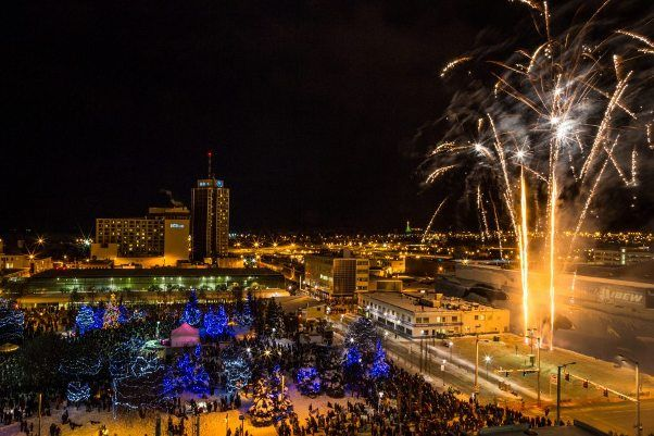 Anchorage New Years Eve 2018 Fireworks