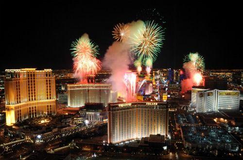 Las Vegas New Years Eve 2018 fireworks