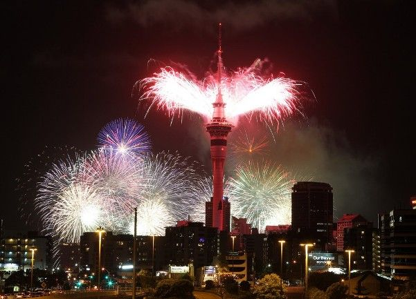 Auckland New Years Eve 2018 Fireworks