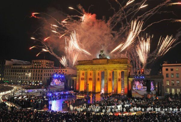 Berlin New Years Eve 2018 Fireworks
