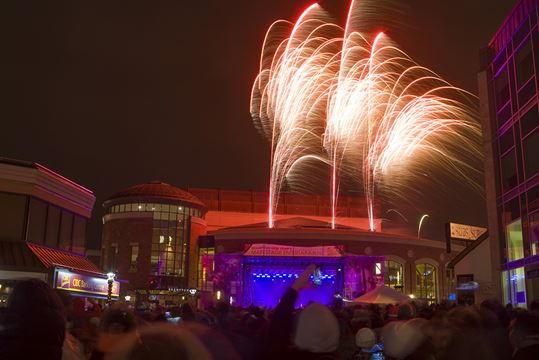 Brampton New Years Eve Fireworks