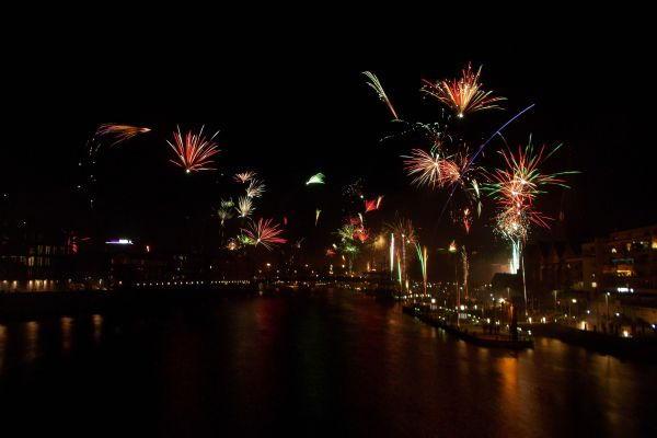 Bremen New Years Eve Fireworks