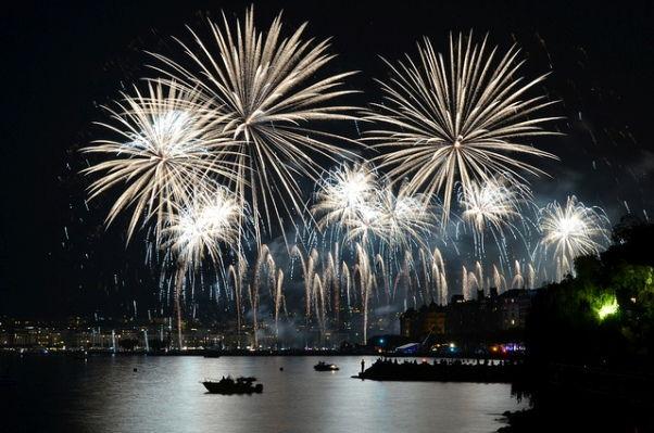 Geneva New Years Eve Fireworks