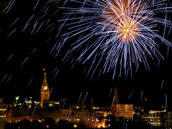 Ottawa New Years Eve Fireworks