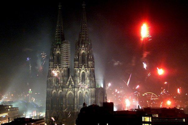 Cologne New Years Eve Fireworks