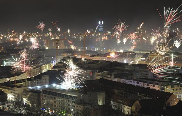 Hanover New Years Eve Fireworks