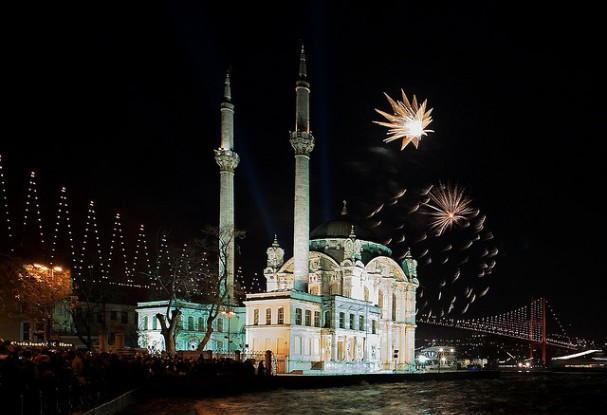 Istanbul NYE Fireworks