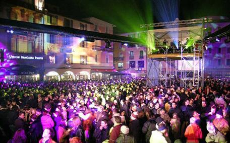 Lugano Switzerland New Years Eve