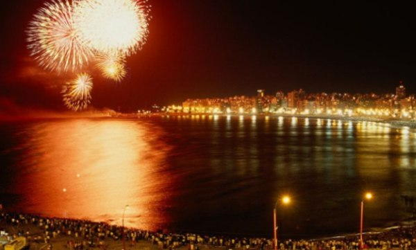Montevideo New Years Eve 2018 Fireworks