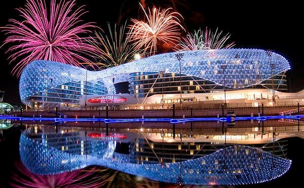 Abu Dhabi New Years Eve 2018