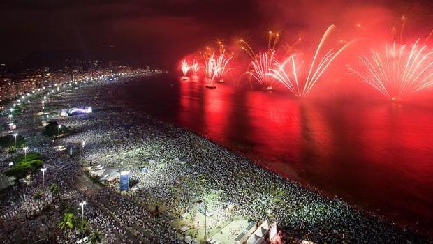 Sao Paulo New Years Eve Fireworks