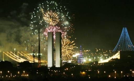 Brasilia NYE Fireworks