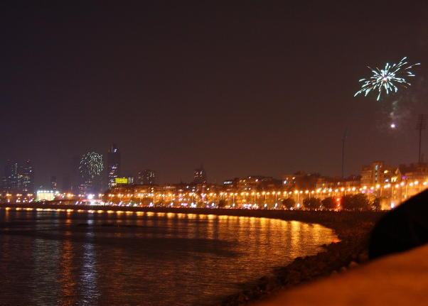 Mumbai New Years Eve 2018 Fireworks