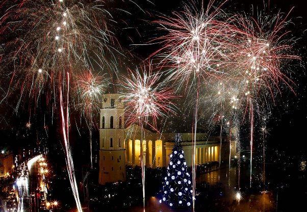 Vilnius New Years Eve Fireworks
