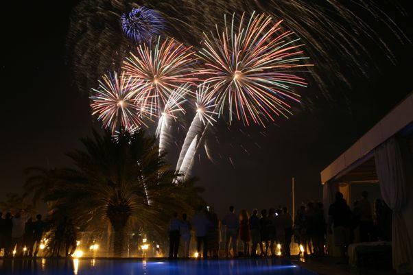 Aruba New Years Eve Fireworks