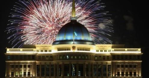 Astana New Years Eve Fireworks