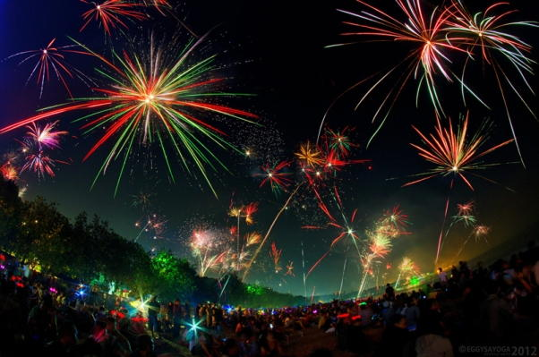 Bali Indonesia New Years Eve