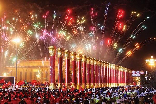 Beijing New Years Eve 2018 Fireworks