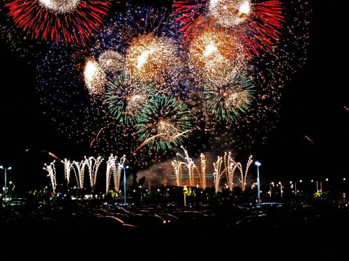 Colombo New Years Eve 2018 Fireworks