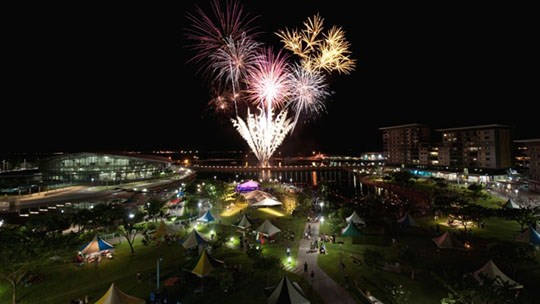 Darwin New Years Eve 2018 Fireworks