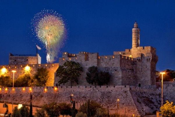 Jerusalem New Years Eve 2018 Fireworks
