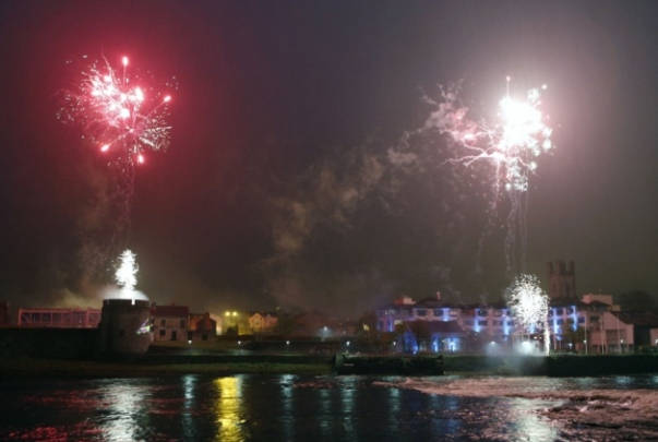Limerick New Years Eve Fireworks