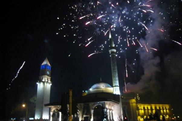 Tirana New Years Eve Fireworks