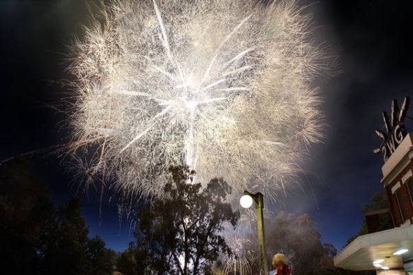 Wagga Wagga New Years Eve Fireworks
