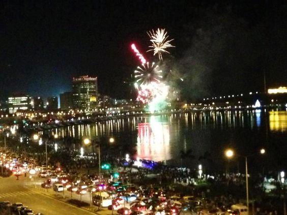 Luanda New Years Eve Fireworks