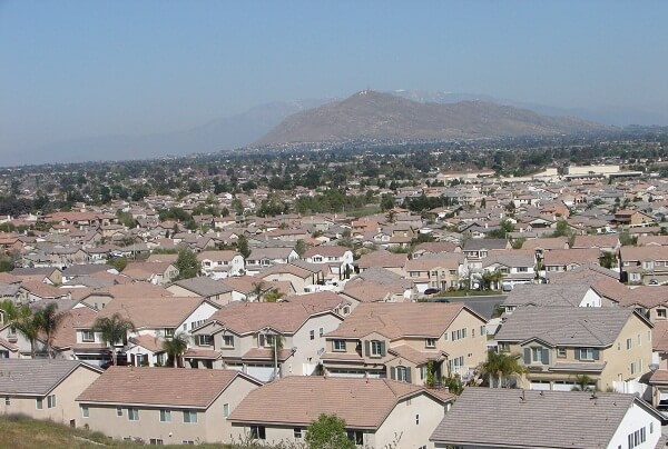 Moreno Valley Skyline