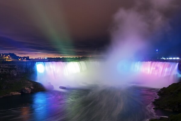 Niagara Falls USA New Years Eve