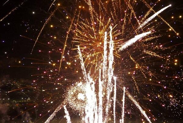 Hialeah FL New Years Eve Fireworks