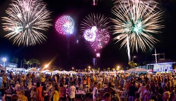 Panama City New Years Fireworks