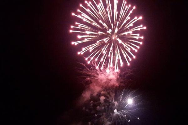 Maldives New Years Eve Fireworks