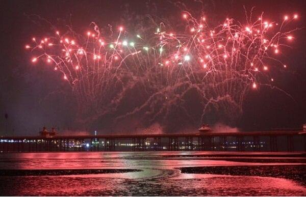 Blackpool New Years Eve Fireworks