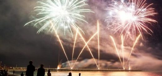 Clearwater Beach New Years Eve Fireworks