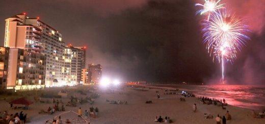 Gulf Shores NYE Fireworks