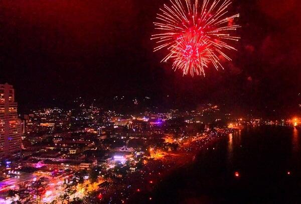 Patong Beach New Years Eve