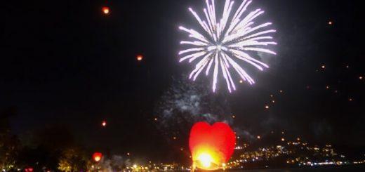 Phuket New Years Eve Lantern Festival