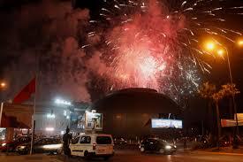 Casablanca NYE Fireworks