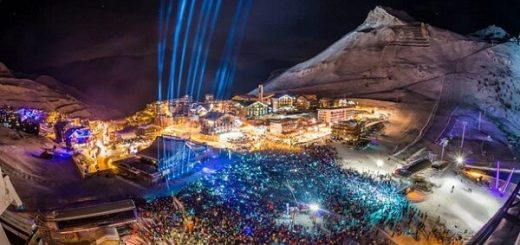 Davos New Years Fireworks