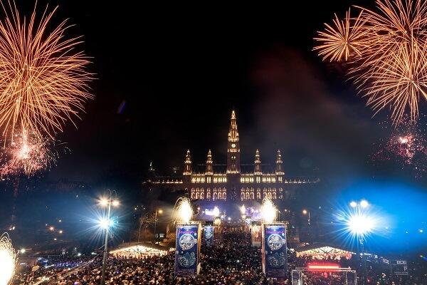 Vienna New Year's Fireworks