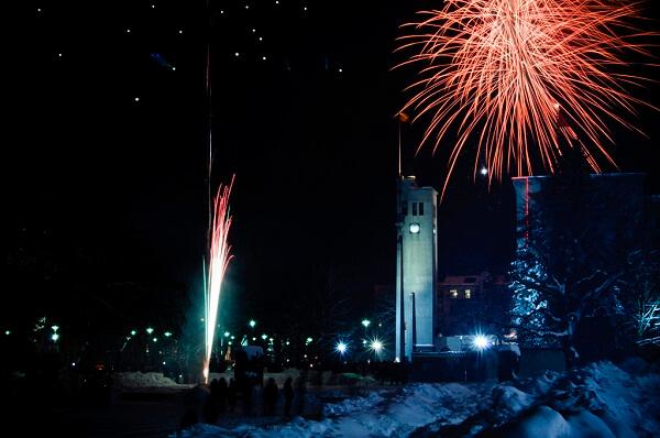 Kaunas New Year Fireworks