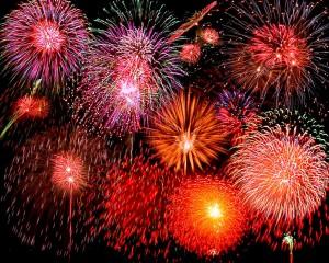 San Bernardino New Year's Fireworks