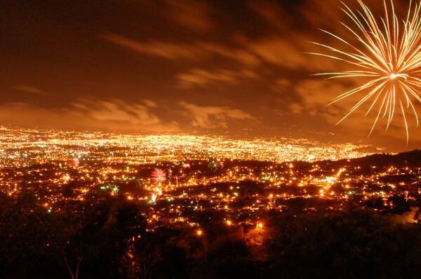 Costa Rica NYE Fireworks