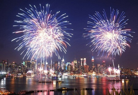 New York City New Years Eve Fireworks