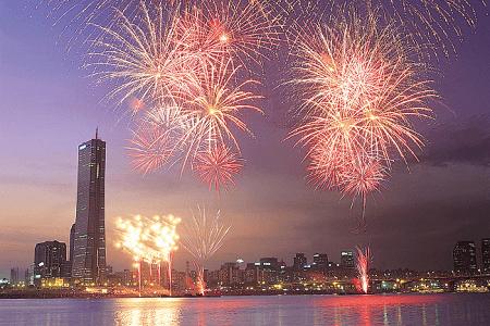 Seoul New Years Eve Fireworks