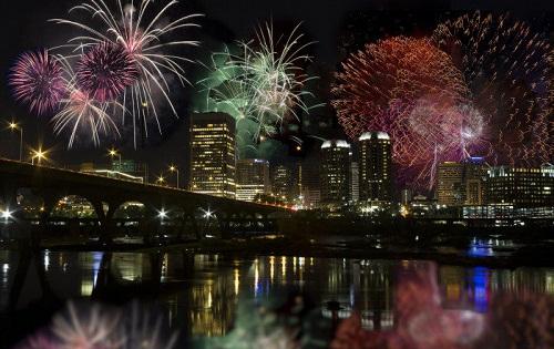 Richmond VA New Years Eve Fireworks