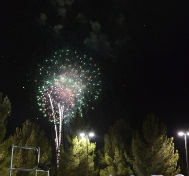 North Las Vegas New Year Fireworks